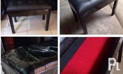 piano bench high gloss black finish with storage size 2