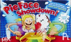 Pie Face Showdown. Let you compete with another player