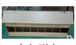 Pigeon accessories Feeder 16hole p500 Also available:
