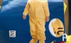 Brand new Toddler Deluxe Pikachu Costume 100% polyester