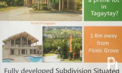 Lot only or house and lot in tagaytay 10k per sqm free