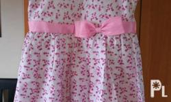 Pink Floral Dress Size XL For 7-9 years old Nationwide