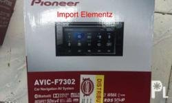 Now available Pioneer 2 dins with Gps navigation