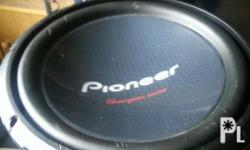 Pioneer champ series 12inc slity use poh meron lng