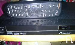 Pioneer dvd player can play original and pirated dvd