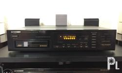 Pioneer multi play compact disc palyer,6 disc