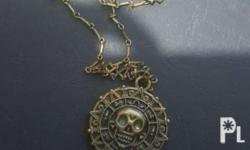 Brandnew Pirates necklace Still slightly neg Pm for