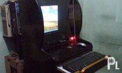 Pisonet complete setwith keyboardmouse,,speaker,17lcd