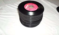 70 Pcs 45 rpm records Quality music, OPM/Foreign