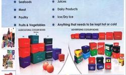 High-Impact Polyethylene Insulated Boxes. The