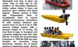 The INCA BOAT is a SAFE AND DURABLE ONE PIECE DOUBLE