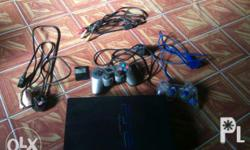 Selling ps2 fat/phat for only 3000..negotiable.. good