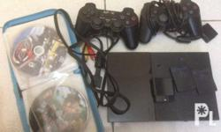 Brand New Playstation 2 with 2 Joystick. (1 joystick is