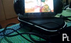 PSP 3001 Color black With protector 4gb memory With