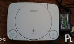 Sony Playstation 1 Unit only plus adaptor In good