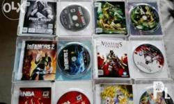 Im selling ORIGINAL 4 ( those INFAMOUS & DEVIL MAY CRY