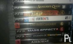 PS3 games for sale. All working and good condition!