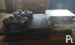 Playstation 3/PS3 (non jailbreak) w/ 2 dual shock 3