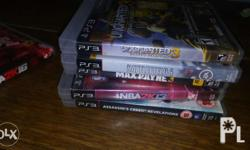 Ps3 games for sale and trade Max payne 3 Assassin creed