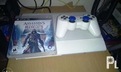 INCLUDED: 1 original DS3 controller (white), power