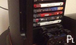 PS3 320GB plus 1 controller and HDMI Cable = 7000 with