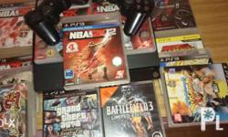 Playstation 3 slim 500 gb with 13 games Pulong Buhangin