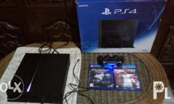 Playstation 4 500gb Cuh1206 A Conplete with box