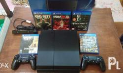 Playstation 4 500gb Complete package 2 controllers Ps4