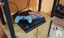 Selling my seldom used PS4 complete w/ box, receipt