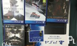 Sale or swap sony playstation 4 1tb games controller