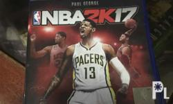 For Sale Playstation 4 NBA 2K17 Barely used because of