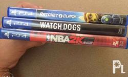 Watchdogs 800 Ratchet and Clank 1500 NBA 2K15 500 Buy