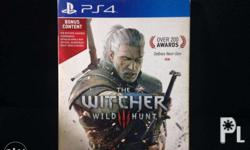 PS4 Game for sale. The Witcher 3 : Wild Hunt (R3)