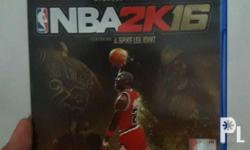 For game collectors out there! Im selling my nba 2k16