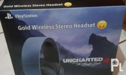 For sale Playstation Wireless Headset uncharted 4