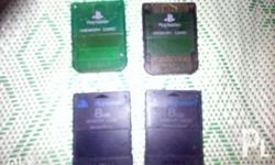 300 each original playstation memory cards for