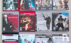 Playstation 3 games for Sale! Games left for sale as of