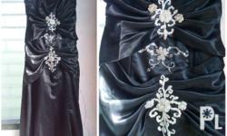 Long gown for plus size women Custom made Detachable