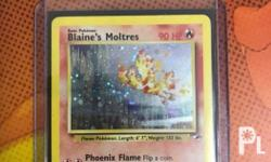 Selling Near Mint Legit Moltres TCG! Meetups at our