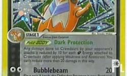 Crawdaunt (Holo Rare - Pokemon Card) Set: Ex Deoxys [#6