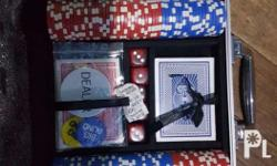 Poker set from hobbes and lands. Once lng nagamit na