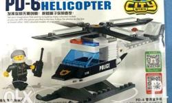 POLICE HELICOPTER - 112 PCS BLOCK SET Item condition: