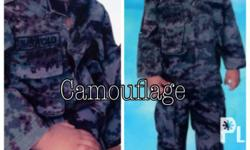 Picture no 1. Caumoflage fit for 1-2 yrs old child .