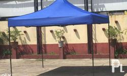 Retractable Gazebo Tents Features: Powder Coated Steel