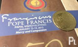Pope Francis Commemorative Coin Minted and issued by