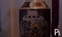 Porcelain jar Height- 51 inches Second hand