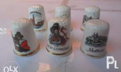 * 6 available porcelain thimble from japan - 1000 Php