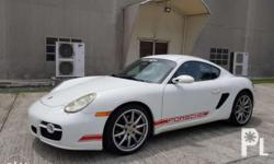 For sale Porsche cayman s manual tranny 50tkm well kept