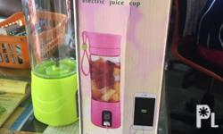 Rechargeable blender for juices and tea also you can