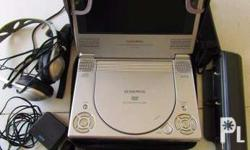 7 inch LCD Monitor -DVD Player,slightly used,